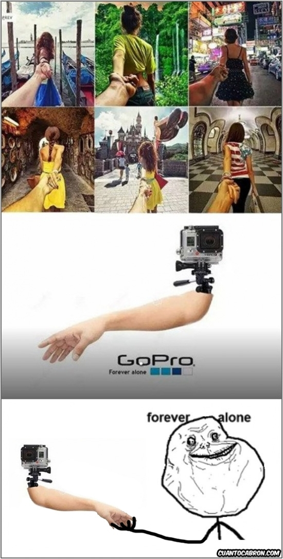 Forever_alone - La GoPro de los Forever Alones