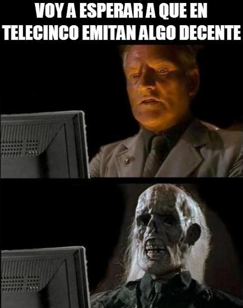 Meme_otros - Telecinco y el nivel de su programación