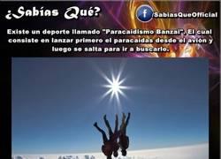 Enlace a ¿Sabes qué es el paracaidismo banzai?