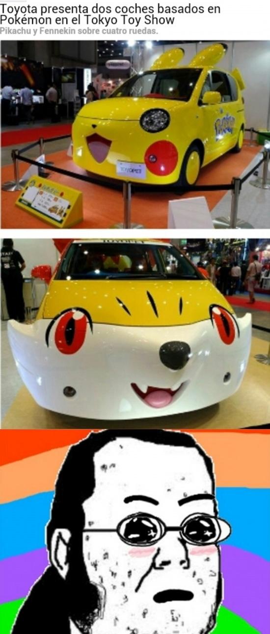 Friki - ¿Recordáis el coche con forma de Pikachu? La cosa ha ido a más...