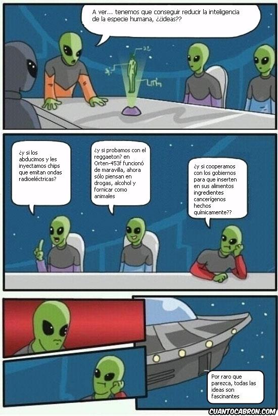 Otros - La conspiración alien es más real de lo que crees