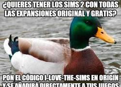 Enlace a ¿Quieres conseguir Los Sims 2 gratis?
