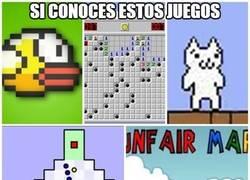 Enlace a ¿Conoces estos juegos?