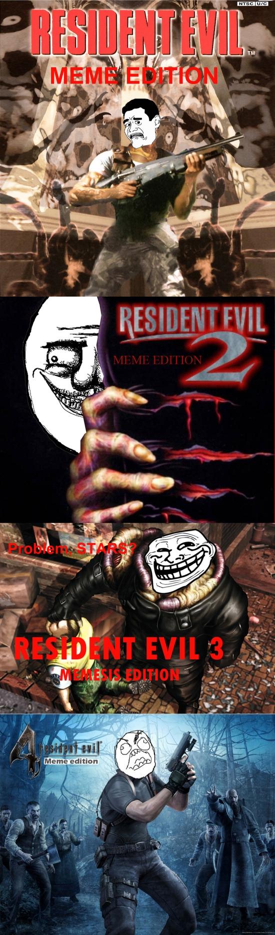 Mix - Resident Evil, versión memes