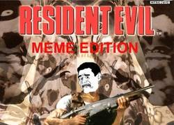 Enlace a Resident Evil, versión memes