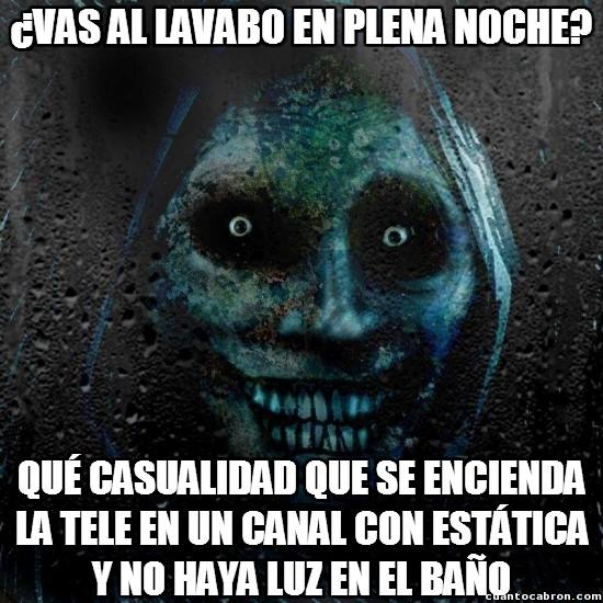 Meme_otros - Especialmente después de ver una película de terror