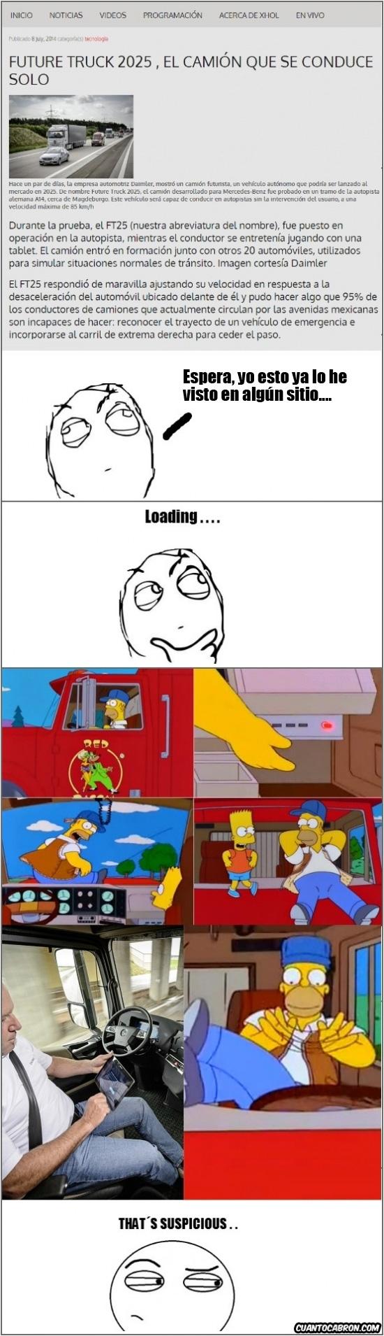 Thats_suspicious - Los Simpson siguen con sus predicciones acertadas