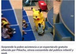 Enlace a Pikachu se siente algo olvidado