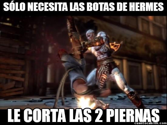 Meme_otros - A veces Kratos no mide y va a lo loco