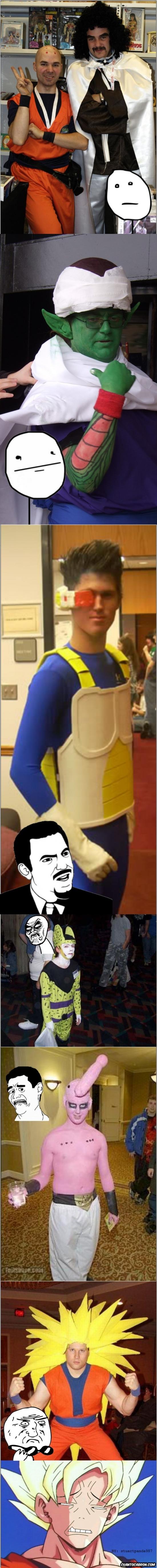 Mix - Cuando un cosplay se hace bien hecho todos flipan, pero cuando no...