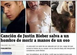Enlace a Para algo sirve la música de Justin Bieber