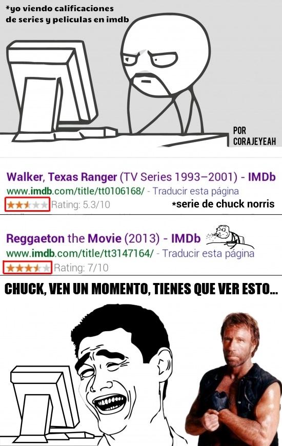 Yao - Los de IMDB recibirán una visita de Chuck Norris muy pronto...