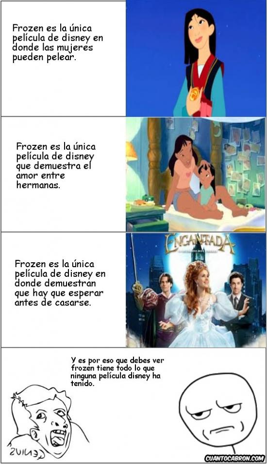 Kidding_me - Pues al final Frozen tampoco es para tanto...