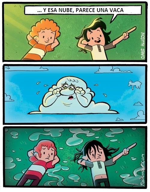 Otros - Algunas nubes son más sensibles...