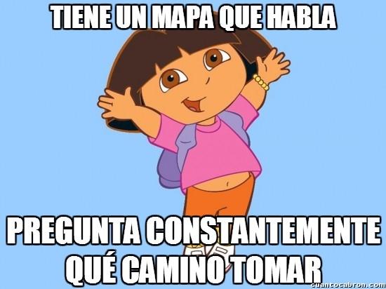 Meme_otros - Dora, la exploratonta