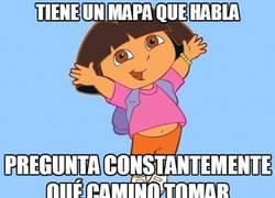 Enlace a Dora, la exploratonta