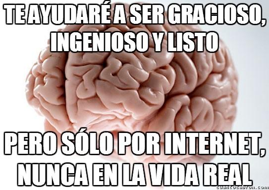 Cerebro_troll - Así es mi vida con mi cerebro