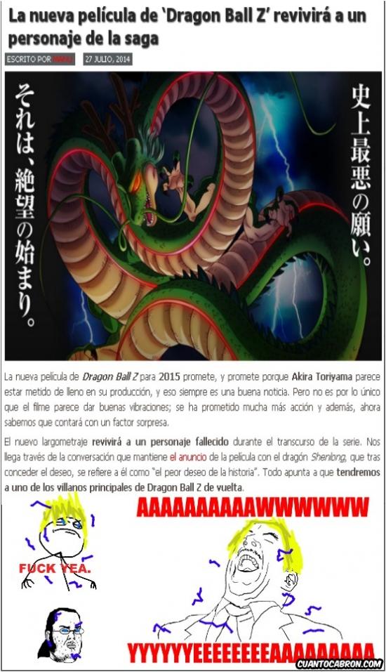 Mix - La nueva pelicula de Dragon Ball revivirá a un personaje de la saga