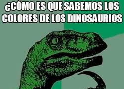 Enlace a Creo que los paleontólogos nos la intentan colar