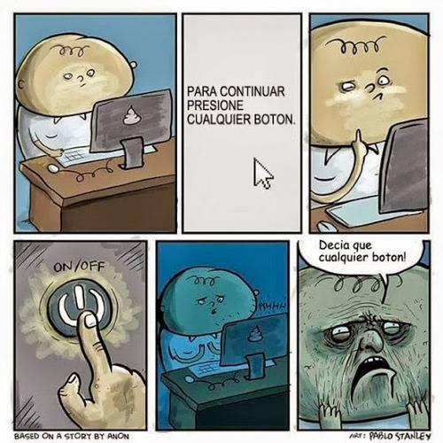 Otros - Recordad desarrolladores, el usuario es imbécil…