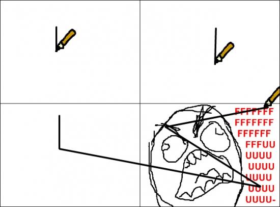 Ffffuuuuuuuuuu - Cuando intentas hacer un dibujo desde un portátil