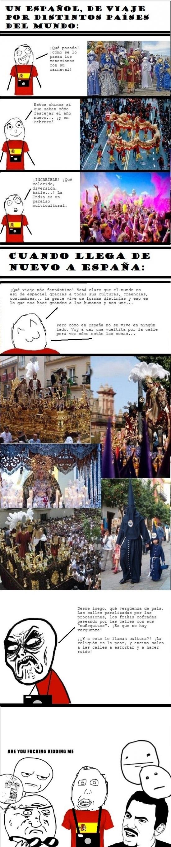 español,procesiones,semana santa,turista,vacaciones,viaje