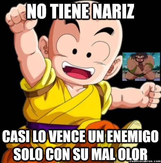 Meme_otros - Lógica de Dragon Ball. Nivel: Krilin