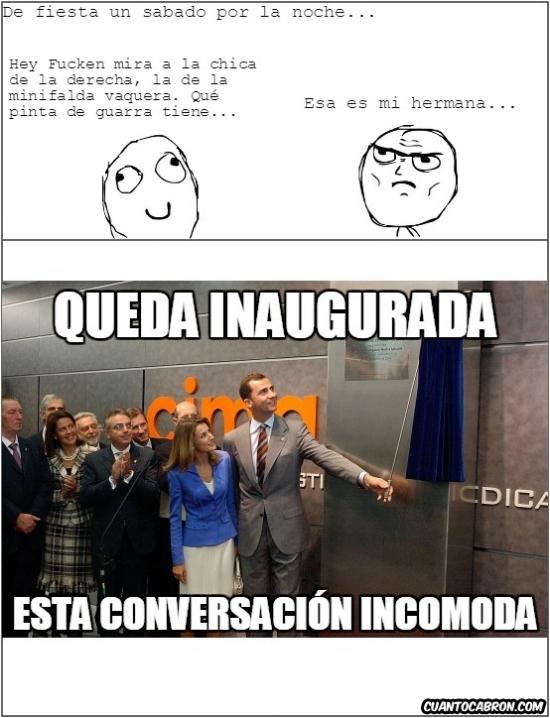 Otros - Inauguración de esta conversación incómoda [Nuevo Meme]