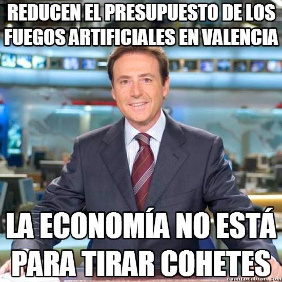 Meme_matias - La crisis no tiene piedad ni de los fuegos artificiales