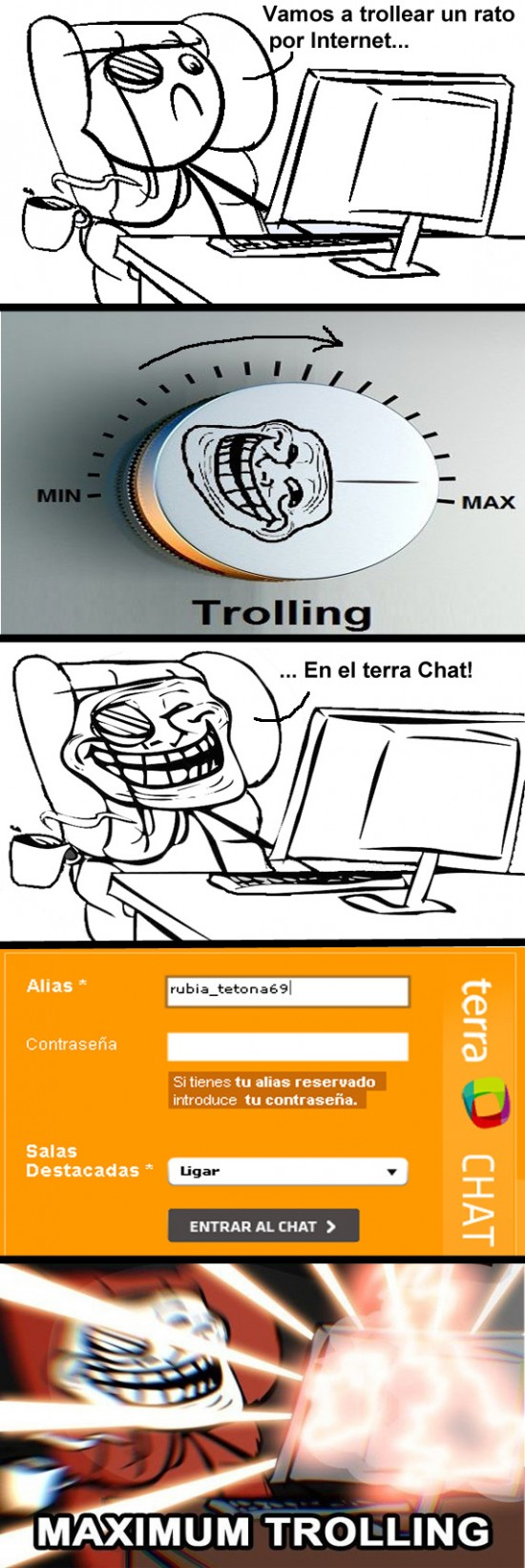 chat,hacerse pasar por chica,muchacha,nick sugerente,terra,troll,trollear