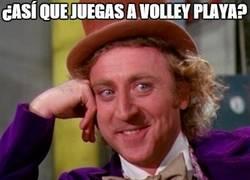 Enlace a Pobres jugadoras de volley playa