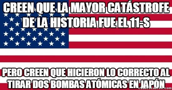 Meme_otros - Los habitantes de los Estados Unidos y su doble moral