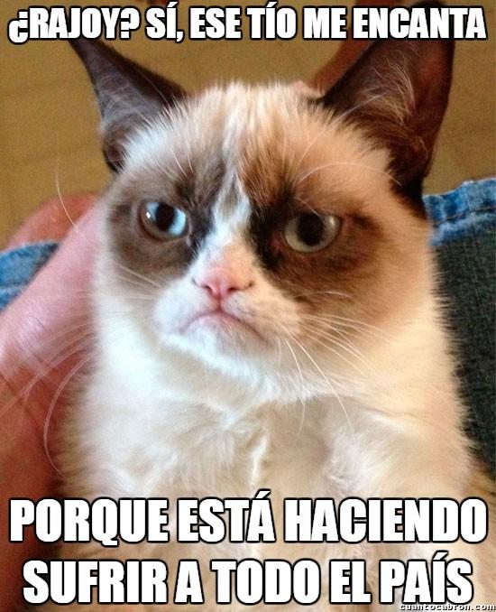 Grumpy_cat - El mayor fan de Rajoy