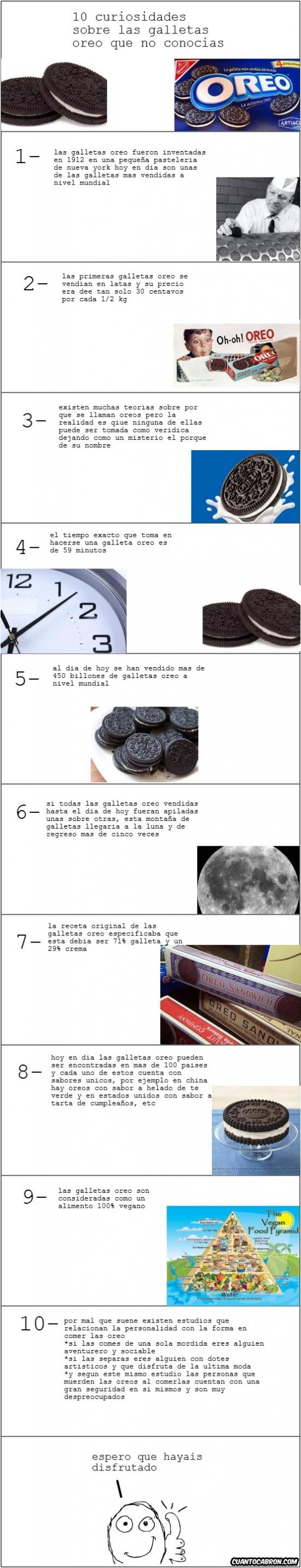 Mix - 10 curiosidades sobre las galletas Oreo