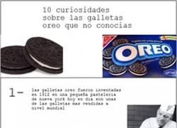 Enlace a 10 curiosidades sobre las galletas Oreo