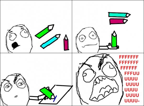 Ffffuuuuuuuuuu - Cuando el lápiz no es el mismo que aparenta ser
