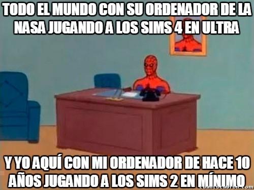 Spiderman60s - ¿Y vosotros qué PC tenéis?