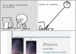 Enlace a Algo con los precios de los nuevos iPhone no me encaja...