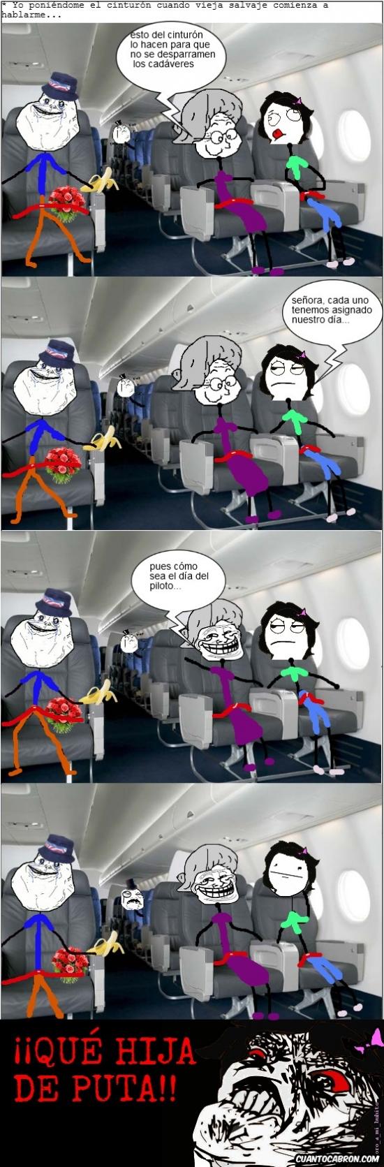 Inglip - Es mejor no hablar con desconocidos en los aviones