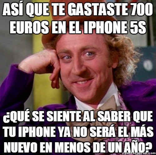 Wonka - A new iPhone is coming!