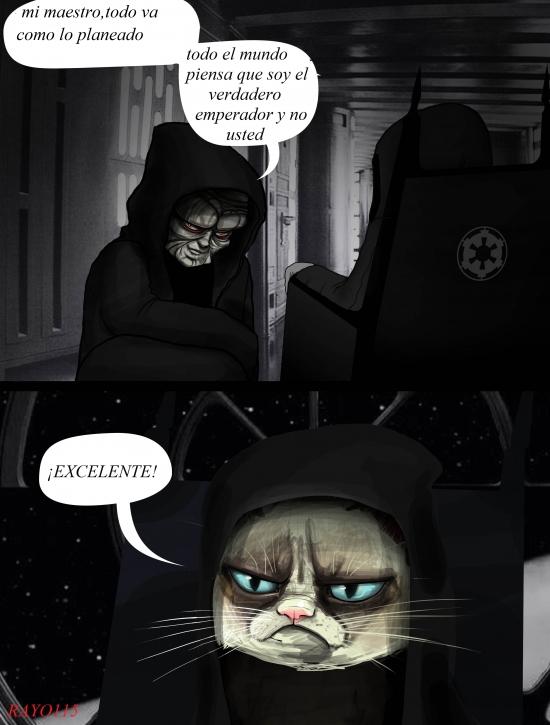 Grumpy_cat - El auténtico jefe del Imperio