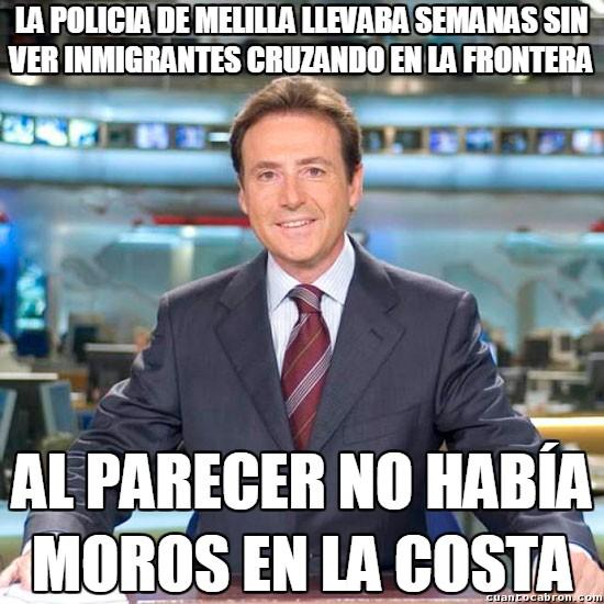 Meme_matias - La tranquilidad de la policía de Melilla