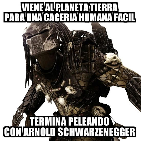 Meme_otros - Bad Luck Predator