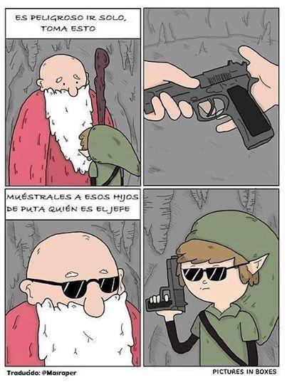 Otros - El día que el Zelda se convirtió en un shooter