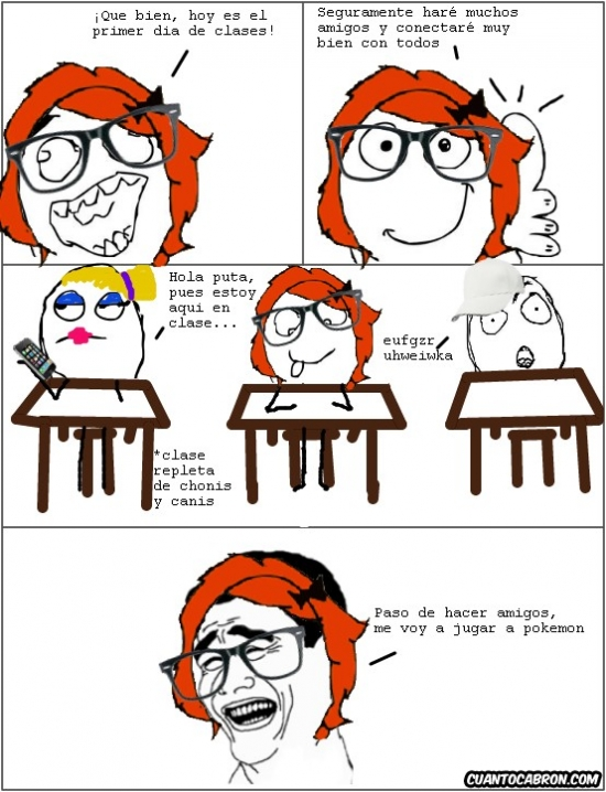 Yao - La realidad del primer día de clase