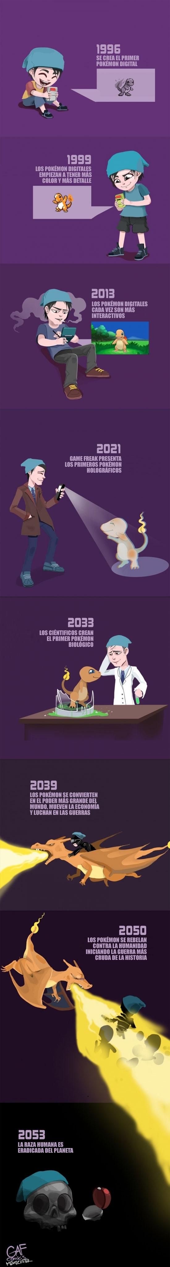 Otros - ¿Y si los Pokémon se hiciesen reales? Igual no sería tan buena idea...