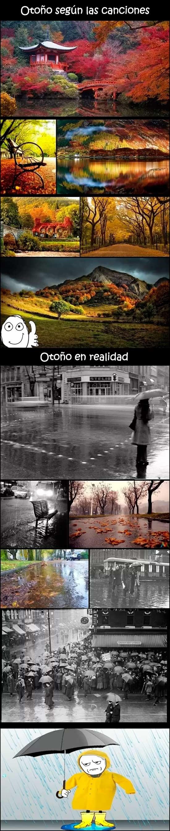 Kidding_me - La realidad de cuando estamos en pleno otoño