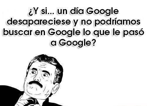 Otros - No somos conscientes de cuánto dependemos de Google hoy en día...
