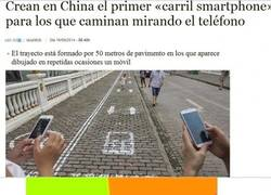 Enlace a Carril Smartphone en China