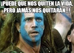 Enlace a William Wallace no estaría contento en un día como hoy